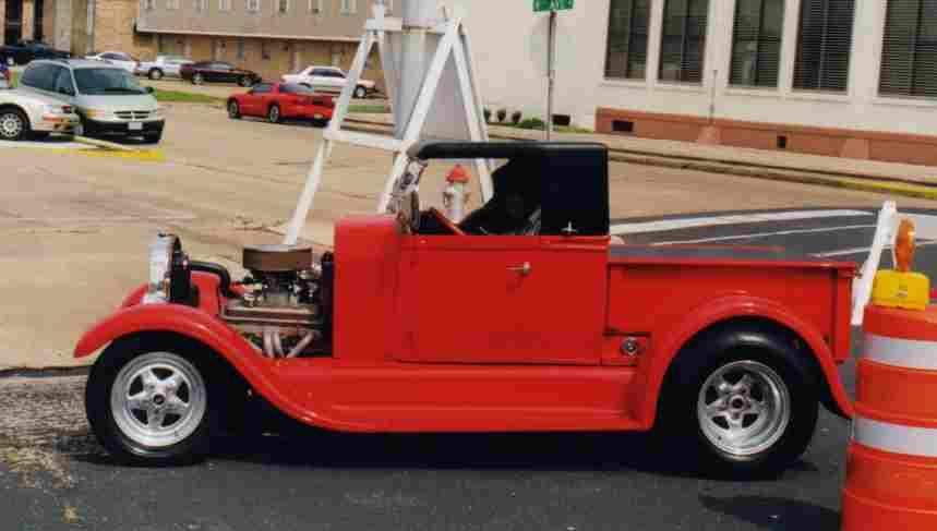 Davenport's 1923 T Pickup