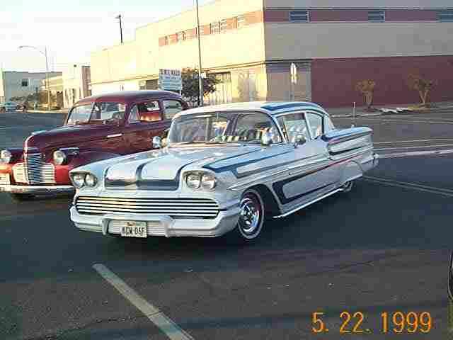 "Dalton and Charlene Logan's 1956 Chevy Impala, ""It'l Do""."